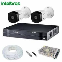 CFTV instalações de câmeras de segurança monitoramento alarmes atendemos DF e Go