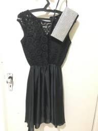 Vendo vestido de festa usado 2x P/M
