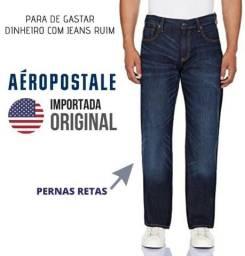 Roupa Masculina em até 12x - Calça Jeans marca AéroPostale - Importada Original