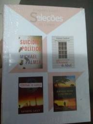 Seleções livro ,com 4 história cada livro