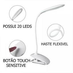 Luminária Led Estudo Com Garra Emergência Usb Clamp Led Desk Lamp Wpp: *