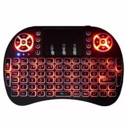 Mini Teclado Mouse Usb Wireless Touch Game Smart Tvbox Pc