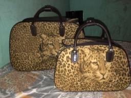 Kit mala+mala de mão