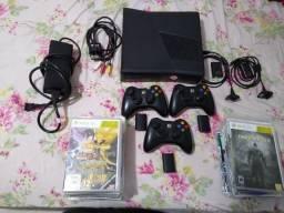 Xbox360 (Console com defeito) Acessórios em perfeito estado!