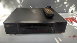 Vídeo Cassete Cce Vcr Box 4 Cabeças Funcionando Controle remoto