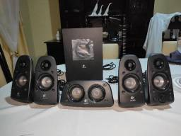 Caixa de Som Logitech Amplificada 5.1 Z506 Nova!