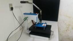 Prensa térmica compacta print semi nova