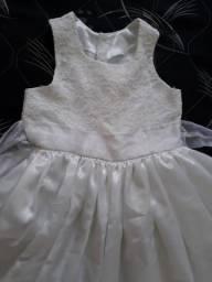 Vestido de daminha ou batisado