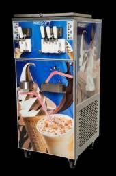 Máquina de Sorvete Italiano e Milkshake