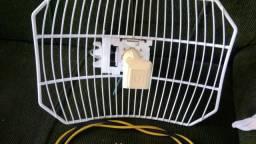 Antena via radio ubiquíti 5.8mHz airgrid