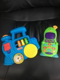Brinquedos FISHER-PRICE (1-3 anos)