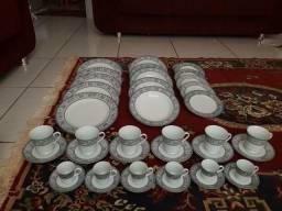 Jogo de Jantar, Chá e Café Porcelana SCHMIDT 42