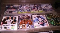Vendo esses 8 jogos de ps3 jogos barato 150