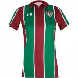 6391ca7a7 Nova camisa do Fluminense 2019 - Armadura Tricolor Feminina