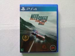 Need For Speed Rivals Ps4 Blu-ray Novo