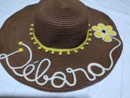 chapéu de praia piscina sol