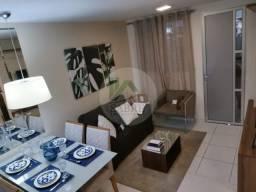 Casa 3 quartos nova a venda, condomínio Happy, bairro Tarumã, Manaus-AM