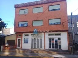 Apartamento com 3 dormitórios para alugar, 80 m² por R$ 1.200/mês - Centro - Gravataí/RS