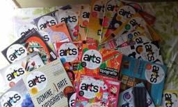 Coleção com 23 Revistas Computer Arts Brasil Design