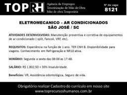 02 vagas Eletromecanico Ar condicionado - Palhoça e São José
