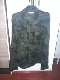 Jaqueta de Sarja Camuflada