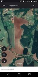 Área para possível Loteamento15 alqueires, município de Itapeva.