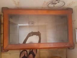 2 mesas de vidro