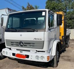 Caminhão Mercedes bens Atron 1719 Munck 16 ton