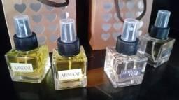 Perfumes 50 ml Armani code e Armani fragrâncias importadas e outras