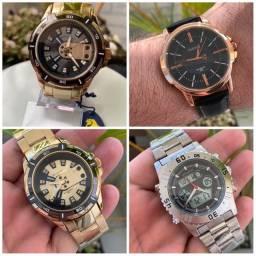 Temos os relógios mais top da ilha. só chamar e enviamos todos os modelos.
