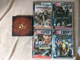 5 jogos originais para PC. CD Expert e DVD Game