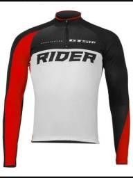 Camiseta Ciclista Gts Manga Longa Proteção Uva Uvb Rider Cl