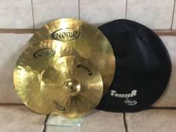 Set de Pratos Twister Orion Cymbals com Bag Usados- Ideal para Iniciantes