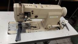 Título do anúncio: Máquina de Costura Duas Agulhas - Barra Fixa