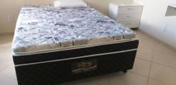 Vendo camas box casal semi novas