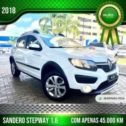 Título do anúncio: SANDERO 2018/2018 1.6 16V SCE FLEX STEPWAY EASY-R