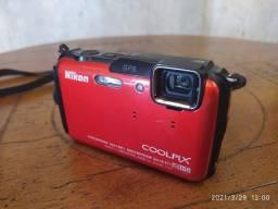 Câmera a prova dágua Nikon Coolpix AW110