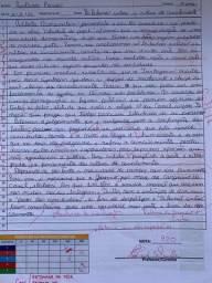 Título do anúncio: faço redação ( dissertação argumentativa )