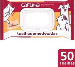Lenço Umedecido Cafuné Para Cães e Gatos 50 Unidades Lacrado!