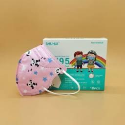 Título do anúncio: Kn 95 Infantil Rosa Panda com 10 unidades e 5 Camadas de proteção