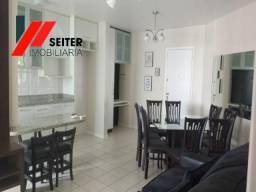 Apartamento de 2 dormitorios semimobiliado para alugar