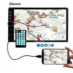 Título do anúncio: Central Multimidia 1 Din 7810H Android Ios (Espelhamento) First Option