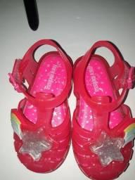Título do anúncio: Mini Melissa e mini sapatilha Marisol