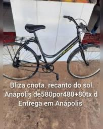 Título do anúncio: Bicicleta aro26 bliza c nota +80t d entrega