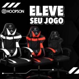 Cadeira Gamer Branco/Preto Macia CG-506 Hoopson