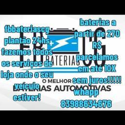 Título do anúncio: Fbbateriascg baterias automotivas!