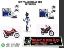 Kit Relação Riffel Bros 160 Xre 190 Titanium Aço 1045
