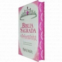 Bíblia Sagrada da Princesinha | NTLH | Letra Média | Luxo | Rosa