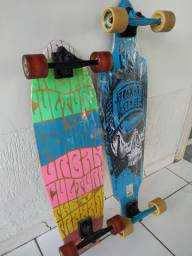 Título do anúncio: Longboards + Luvas