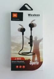 Título do anúncio: Fone De Ouvido J-803 Harman Bluetooth! Esportes - Academia!